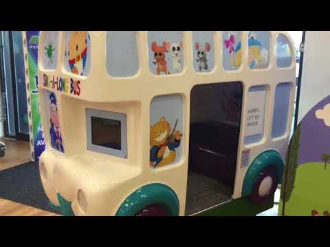 Northern Leisure Sing-A-Long Karaoke Bus Kiddie Ride