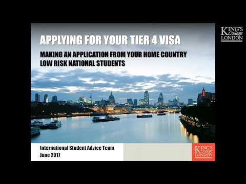 Applying for a Tier 4 Visa as a Low Risk National (2017)