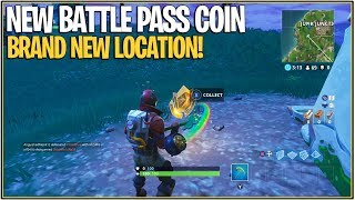 Fortnite: Follow the Treasure Map Located In Anarchy Acres! | (NEW BATTLE PASS COIN LOCATION)