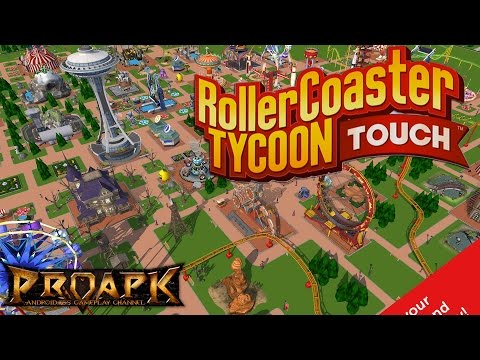RollerCoaster Tycoon Touch Gameplay : rct