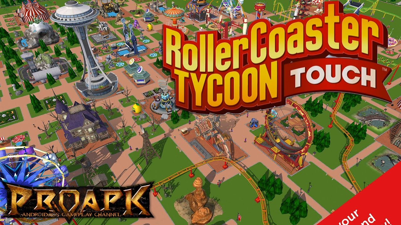 RollerCoaster Tycoon Touch Gameplay Android / iOS