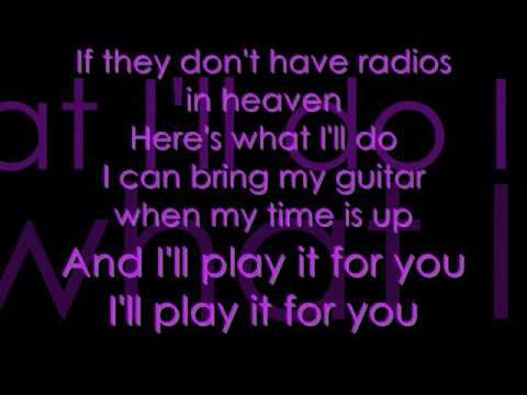 Radios In Heaven Lyrics - Plain White T's