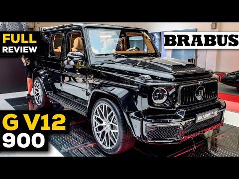 BRABUS G V12 900 NEW FULL Review BRUTAL V12 Exterior Interior in 4K