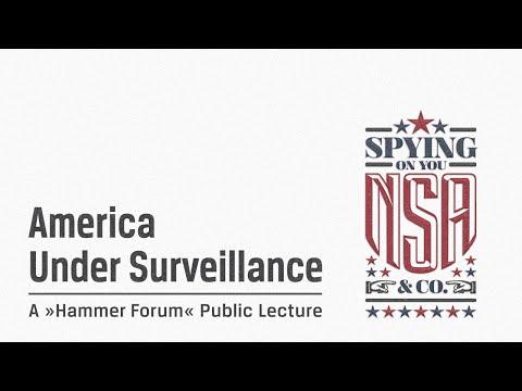 »AMERICA UNDER SURVEILLANCE« | Public Lecture 2015-1-20