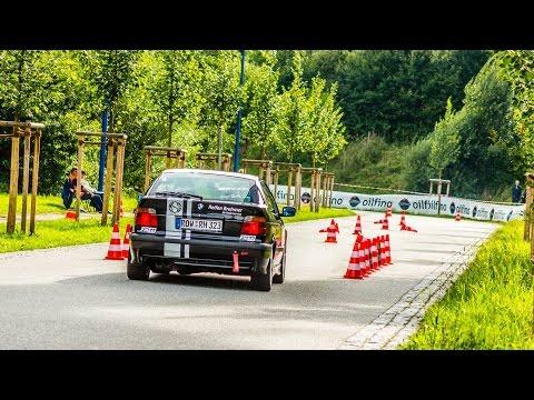 25./26. ADAC-BAC-Clubsportslalom 2016 - BMW E36 323ti - Onboard - Alexander Brase