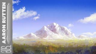 Digital Art Speed Painting Landscape - Palette Knife Mountain (Corel Painter 2017)