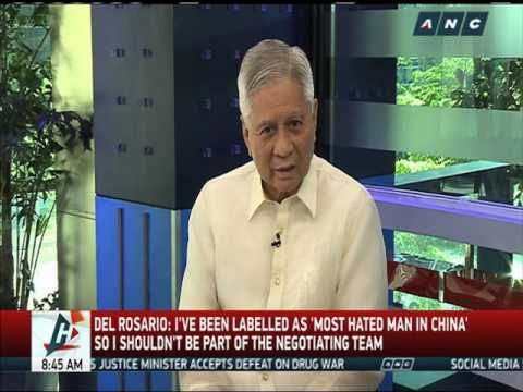 Del Rosario 'confident' in Yasay, Duterte admin