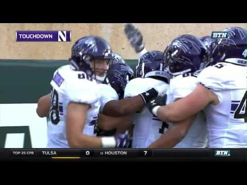 Northwestern at Michigan State - Football Highlights