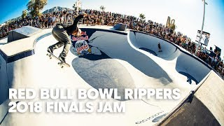 Finals Skate Jam Session at Red Bull Bowl Rippers 2018