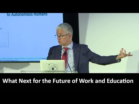 What Next For The Future Of Work And Education