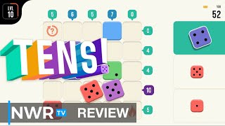TENS! (Switch) Review - A Relaxing Blend of Sudoku and Block Puzzles (Video Game Video Review)
