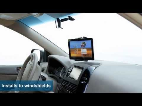 Car Windscreen Suction Mount Holder For Samsung Galaxy Tab 3 10.1/'/' 8/'/' Tablet