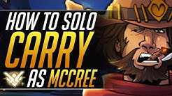 How to MASTER MCCREE - Pro Tips to SOLO CARRY and RANK UP FAST | Overwatch DPS Guide (Grandmaster)