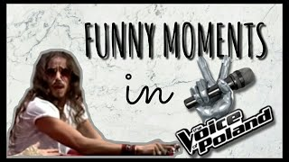 Michał Szpak- Funny moments in The Voice of Poland #3