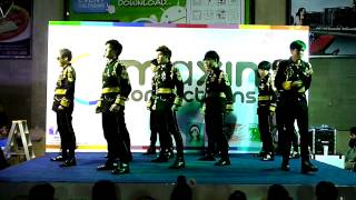 150111 ULZZang cover Super Junior - MAMACITA + BONAMANA @'SUPER SHOW 6' in BANGKOK at Impact Arena