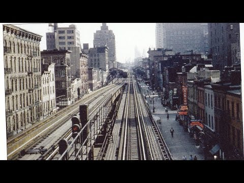 3RD AVENUE ELEVATED , a full trip movie footage