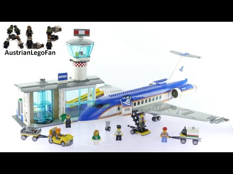 Lego City 60104 Airport Passenger Terminal - Lego Speed Build Review