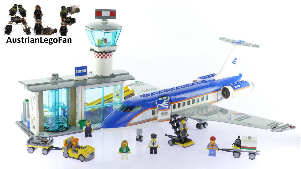 Lego City 60104 Airport Passenger Terminal Lego Speed Build Review