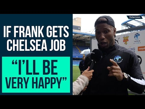 Didier Drogba wants Frank Lampard as Chelsea Manager | The Sportsman Soccer Aid 2019
