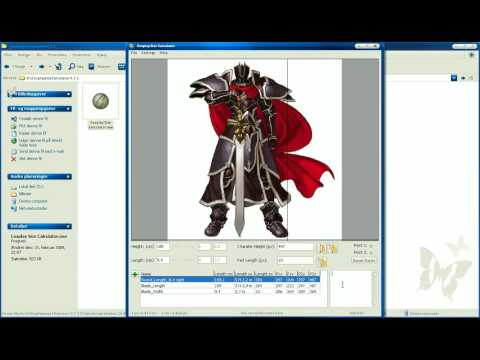 Cosplay Size Calculator 0.7.1 - Tutorial (Better Quality)