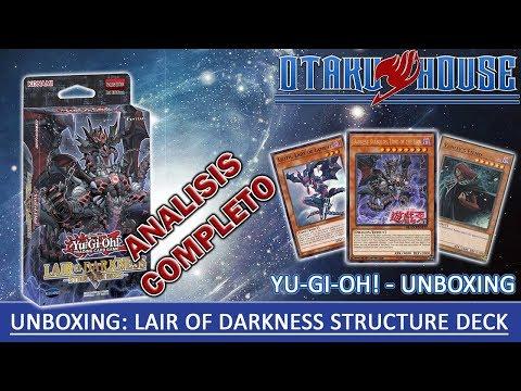 Abriendo 1 Structure Deck Lair Of Darkness de Yu-Gi-Oh!