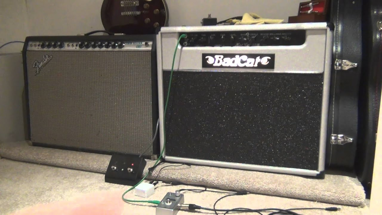 DIY Guitar Amp Isolation Platform - YouTube