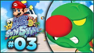 Super Mario Sunshine 100% Walkthrough | ALL Gelato Beach Shine Sprites! [Episode 3 🔴LIVE]