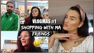 VLOGMAS #1 Black Shopping, meeting ma FRIENDS and a hair mess   Cecelicious