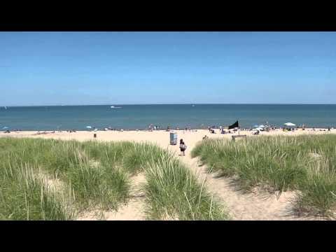 lake-michigan-beach-at-beachwalk-resort-in-michigan-city,-indiana-wedding-venue-location