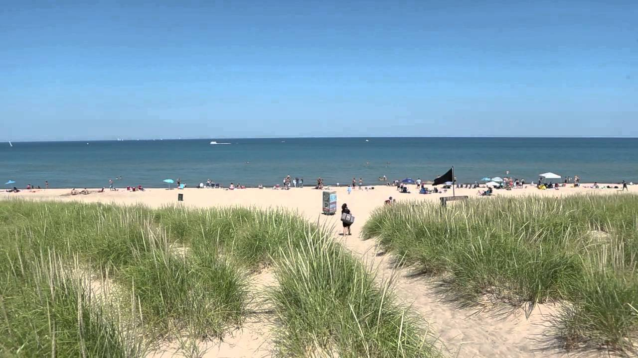Lake Michigan Beach At Beachwalk Resort In City Indiana Wedding Venue Location You