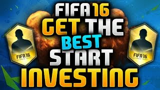 FIFA 16 | GET THE BEST START - INVESTING (EASY COINS)