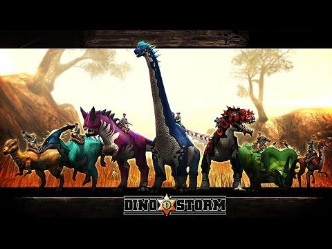 DinoStorm   Online F2P Dinosaur MMORPG!
