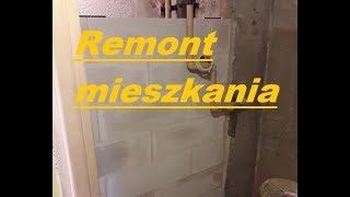 Remont mieszkania w bloku z wielkiej płyty #3 tynkowanie komina , ponowne murowanie
