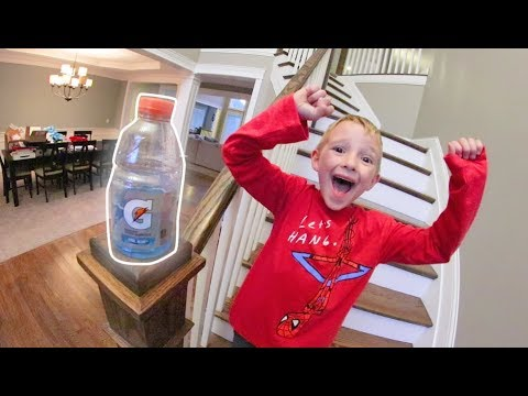 FATHER SON BOTTLE FLIPPING 3!