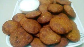 શીતળા સાતમ રેસીપી બાજરી ના વડા | Gujarati Recipes Bajri na Vada