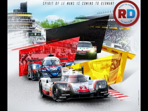 Le Mans style racing at the legendary Nurburgring