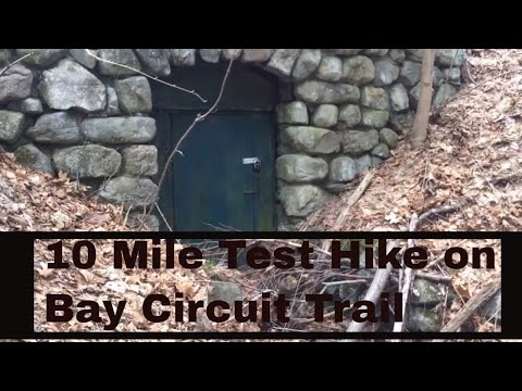 10 mile test hike on bay circuit trail