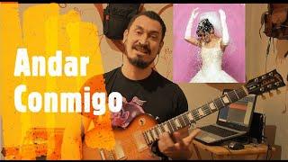Andar Conmigo Julieta Venegas, Como tocar en guitarra