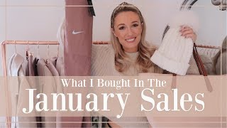 WHAT I BOUGHT IN THE JANUARY SALES // Fashion Mumblr