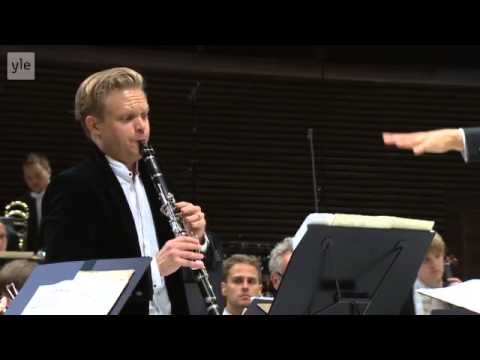 Erkki-Sven Tüür: Clarinet Concerto - Christoffer Sundqvist (2/2)