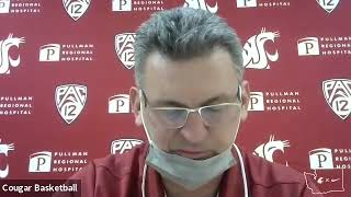 WSU MBB: Kyle Smith Colorado Postgame 1/23/21