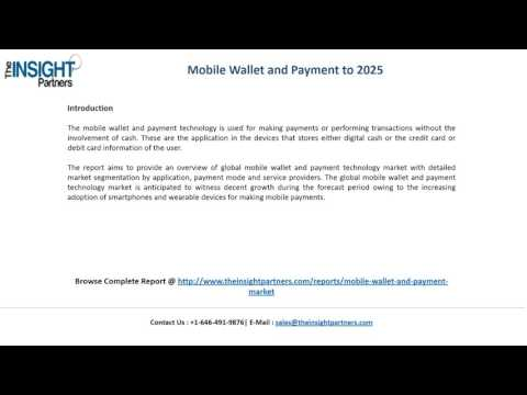 Revenue Analysis Mobile Wallet and Payment Market 2025 |The Insight Partners