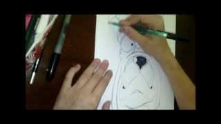 Funny Animals - тату эскизы(Кот, Лошадь , Собака) - VALYA STEEP