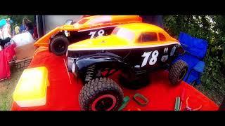 Racin Ray's Bullring Dirt Oval RC racing