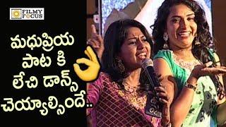 singer-madhu-priya-sings-neelapuri-gajula-song-from-mahatma-movie-operation-2019-pre-release-event