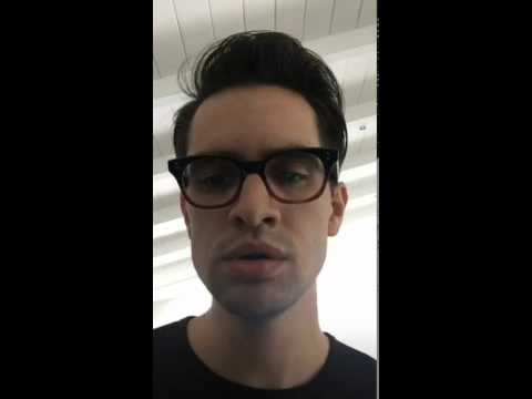 "Brendon Urie Covering ""Creep"" By Radiohead On Periscope"