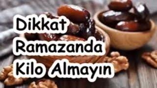 Dikkat Ramazanda Kilo Almayın