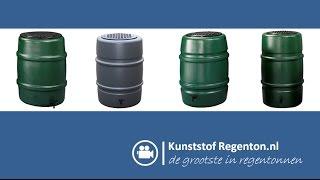 Regenton Harcostar | Kunststof regenton.nl