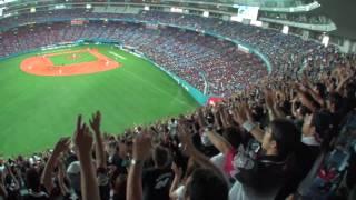 20090809京セラドーム大阪9回マリーンズの攻撃 thumbnail