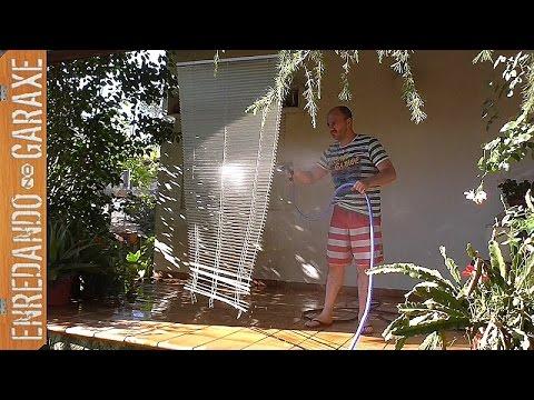 C mo limpiar una persiana veneciana de aluminio muy f cil - Persiana veneciana de aluminio ...